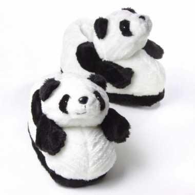 Volwassenen dieren sloffen panda