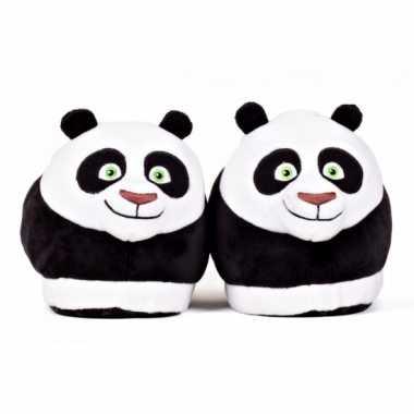 Volwassenen kung fu panda po sloffen