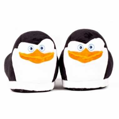 Volwassenen madagascar pinguin skipper sloffen