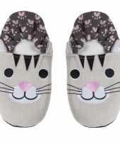 Pluche kersenpit warmte magnetron katten poezen sloffen pantoffels voor volwassenen